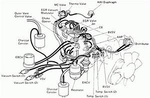 1990 Toyota Pickup Engine Diagram