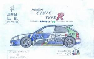 Honda Civic Type R 1997 : 1997 honda civic type r project 39 97 by sammfeatblueheart on deviantart ~ Medecine-chirurgie-esthetiques.com Avis de Voitures