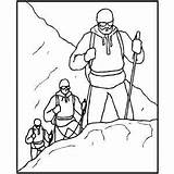 Climbing Mountains Coloring Drawing Making Mountaing Sheet Mountain Samples Getdrawings Freecoloringsheets Index sketch template