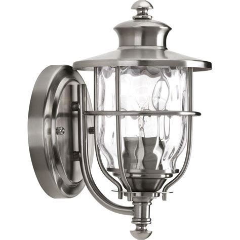 progress lighting beacon collection 1 light stainless