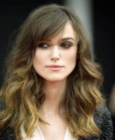 Long Hairstyle with Bangs for Wavy Hair