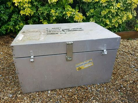 5 out of 5 stars. Aluminium Metal storage trunk coffee table | in Liss, Hampshire | Gumtree