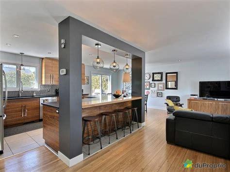 beautiful cuisine ouverte sur salon surface 2