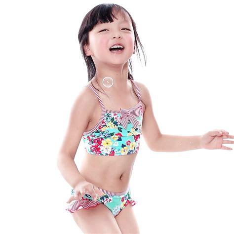 retail  summer style baby girl bikini fashion floral
