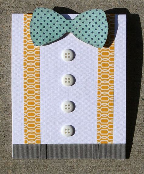 easy handmade fathers day card cute washi tape idea