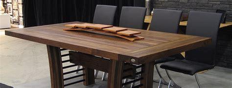 table cuisine bois table comptoir bloc de boucher et ilôt en bois massif