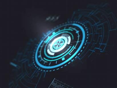 Hud Power Dribbble Futuristic Background Technology Optical