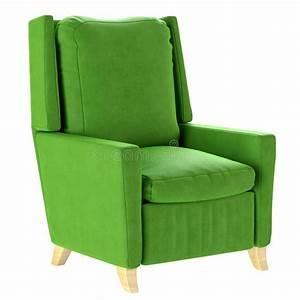 Fauteuil Scandinave Vert : fauteuil scandinave simple de vert de style avec les jambes en bois meubles mous 3d rendent ~ Teatrodelosmanantiales.com Idées de Décoration