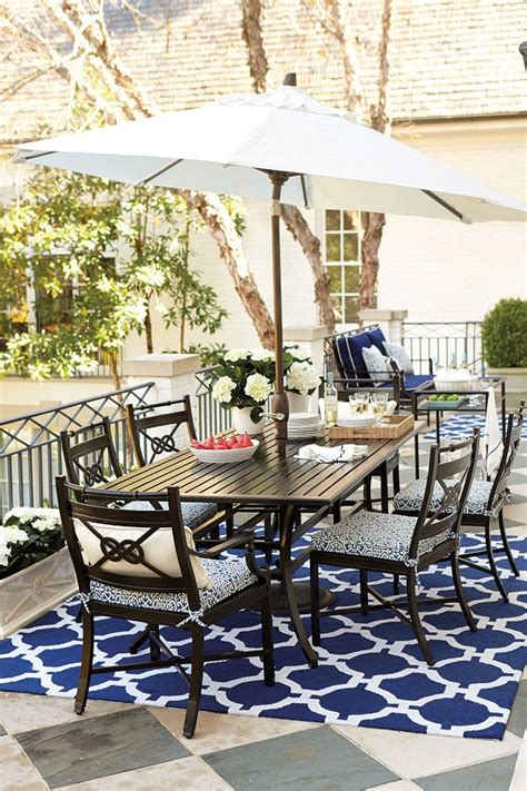 Decorating With Nautical Accents  Outdoor Patio Rugs