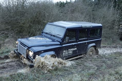 Electric Land Rover Defender Concept Photos And Details