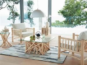 Table Gigogne Maison Du Monde : maison du monde table basse bois flotte ~ Teatrodelosmanantiales.com Idées de Décoration