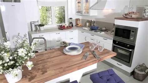 les meubles de cuisine lumio blanc