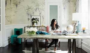 Inside Rachel Roy's Impeccably Elegant Home Office