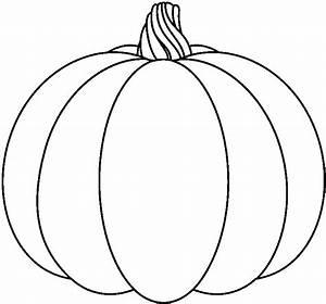 Pumpkin clipart black and white 1 - Cliparting.com
