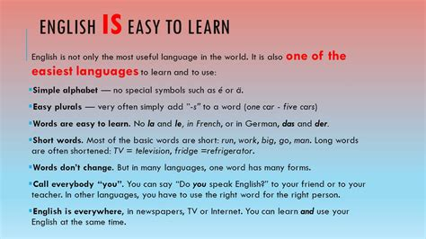 Why Learn English?  Ppt Video Online Download