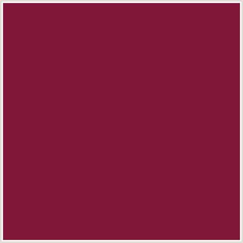 what color is claret 801638 hex color rgb 128 22 56 claret