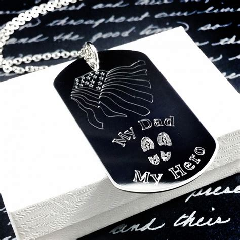 engraved military dog tag uniqjewelrydesigns