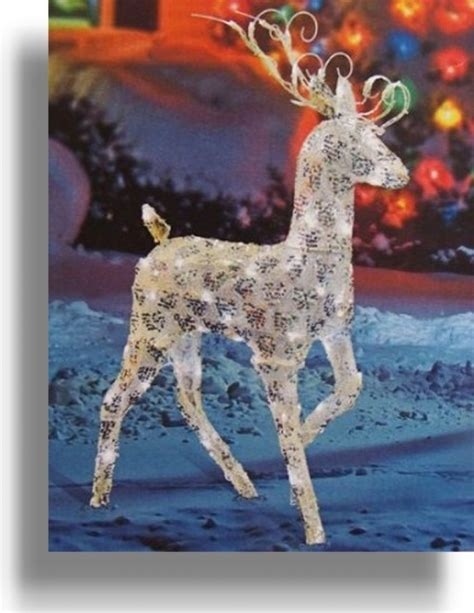 ornament lighted deer lawn ornaments 28 images
