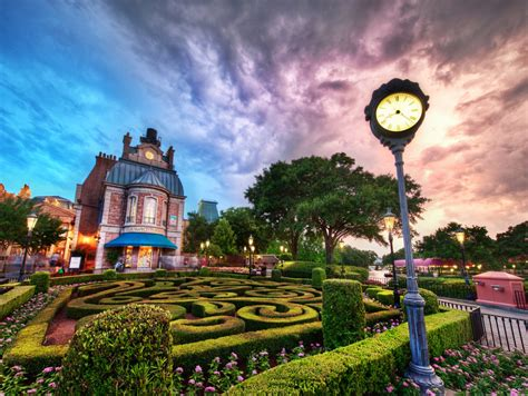 Beautiful Disney World at Sunset   Daily Photo - Beautiful ...