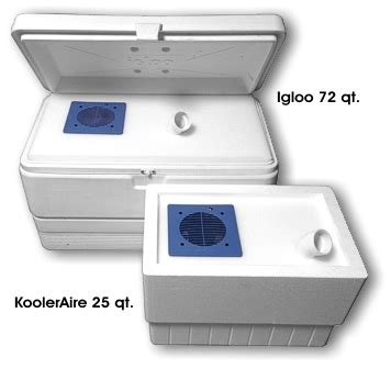 12 Volt Boat Air Conditioner by Portable Cooler Air Conditioner 12 Volt By Kooleraire 39 95