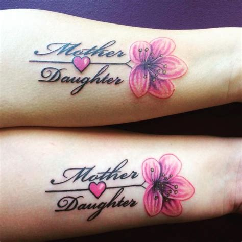 sweet mother daughter tattoos
