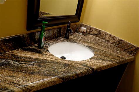 The Application Of Granite Bathroom Countertops