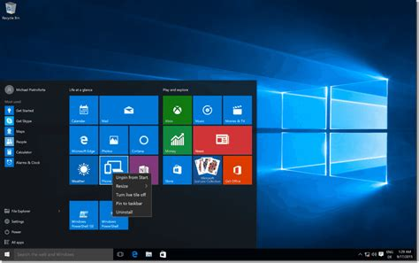 Deploy The Windows 10 Start Menu Layout With Group Policy