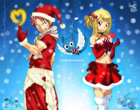 christmas fairy tail  iphenixia  deviantart