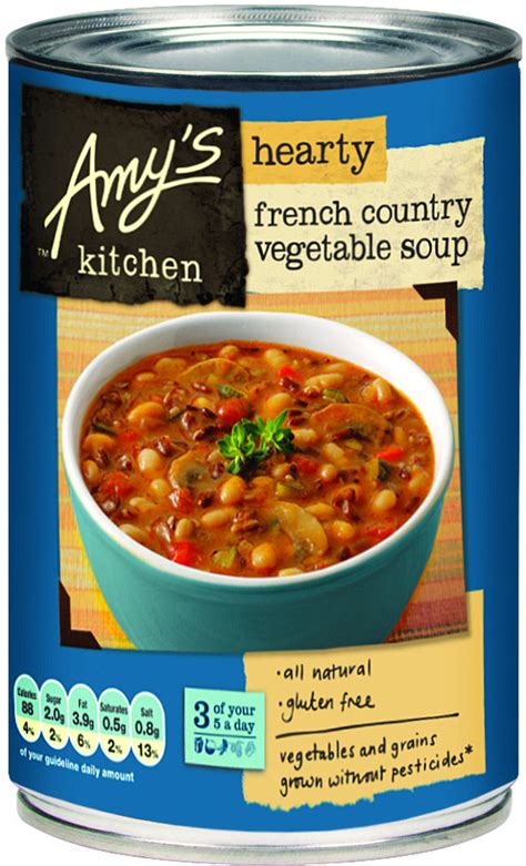 country vegetable soup recipe amy s kitchen hearty french country vegetable soup 408g amy s kitchen