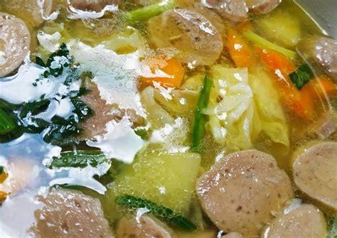 82 resep dapur umami ala rumahan yang mudah dan enak dari komunitas memasak terbesar dunia! Resep Sayur Sop Bakso yang Sedap dan Mudah - Aneka Resep Sop Enak dan Mudah