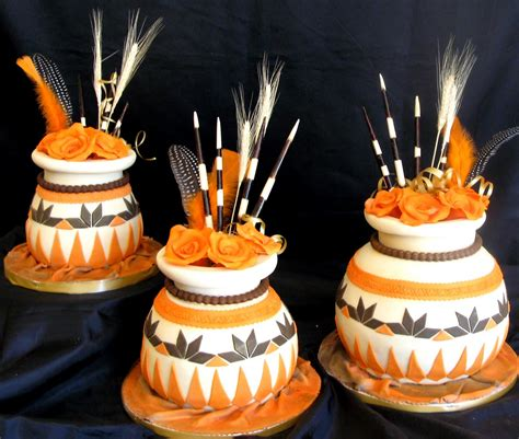 cake tradition sugarcraft by soni traditional african pots wedding cake