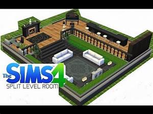 sims 4 how to make a split level room youtube With how to make a second floor on sims freeplay