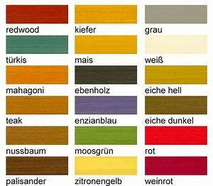 Holzlasur Farben Innen : biofa holzlasur farbig ~ Markanthonyermac.com Haus und Dekorationen