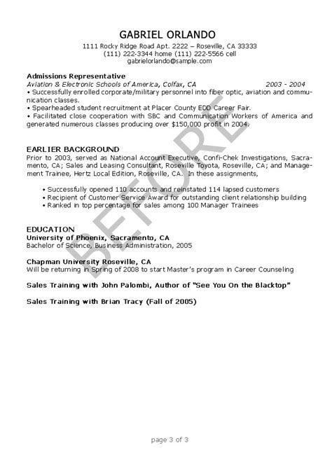 Free Resume Editing by Resume Editing Sles Resumesplanet