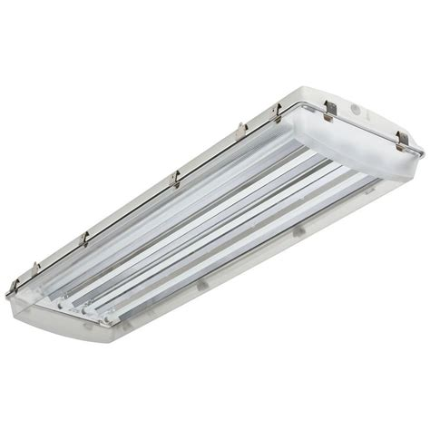 using led lights in enclosed fixtures viavolt 2 ft 4 bulb t5 high output copper fluorescent
