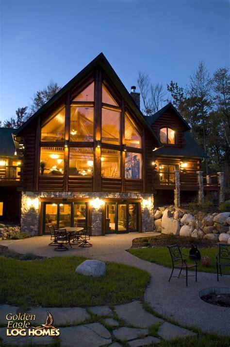log cabin home golden eagle log and timber homes log home cabin