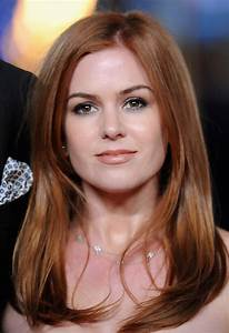 Isla Fisher Long Straight Cut - Isla Fisher Hair Looks ...