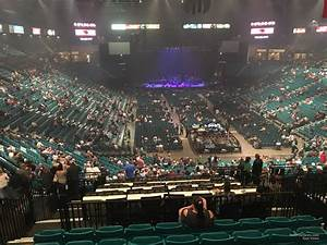 Mgm Grand Garden Arena Section 203 Rateyourseats Com