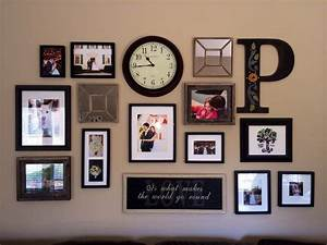 Wall decor and photo frames : Best collage frames ideas on diy picture