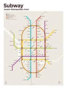 Austin TX Metro Map