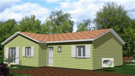 plan maison bois en kit pas cher maison eco bois