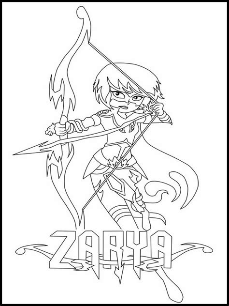 Mysticons Printable Coloring Pages 3