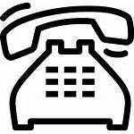 Icon Clipart Ringing Phone Telephone Pinclipart Transparent