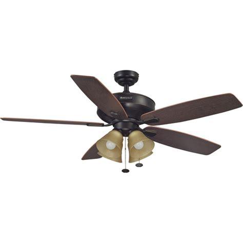 Mainstays Ceiling Fan by 52 Quot Honeywell Hamilton Ceiling Fan Walmart