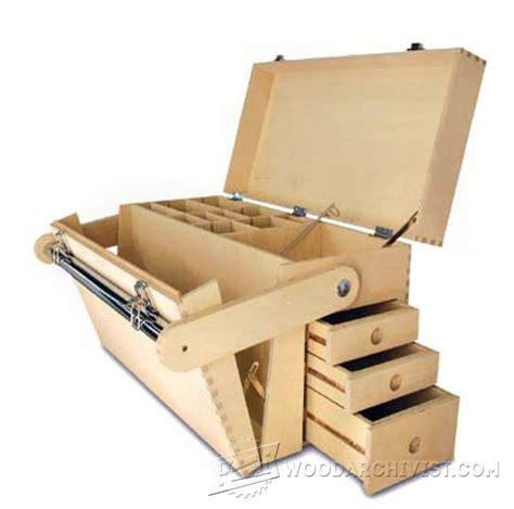 plywood tool chest plans woodarchivist