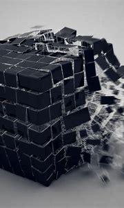 2048x2048 3d Cube Burst Ipad Air HD 4k Wallpapers, Images ...