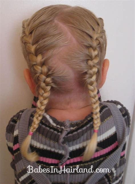 Toddler French Braids Babes In Hairland