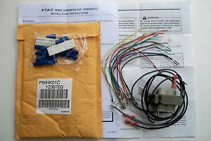 goodman amana trane ptac wire harness kit pwhk01c remote thermostat new sealed