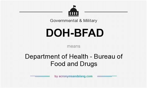 bureau definition what does doh bfad definition of doh bfad doh