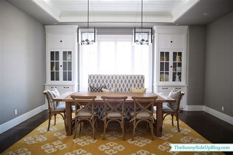 Dining Room Bench by Side Up Dining Room Decor Update Bench Chairs
